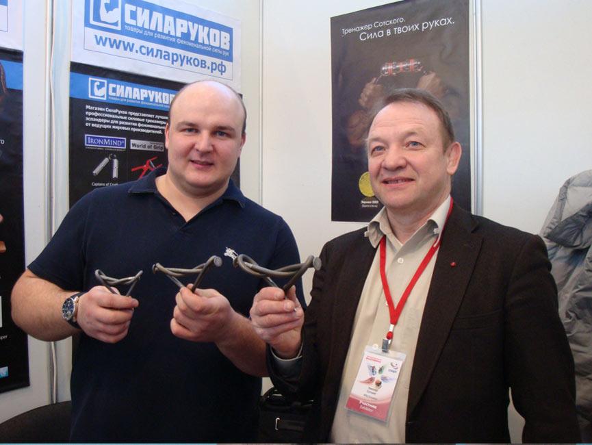 Павел Хатунцев, завязавший гвозди 250 и 300мм