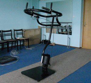 Тренажёр «BISON-T» для мышц середины тела (туловище, поясница).