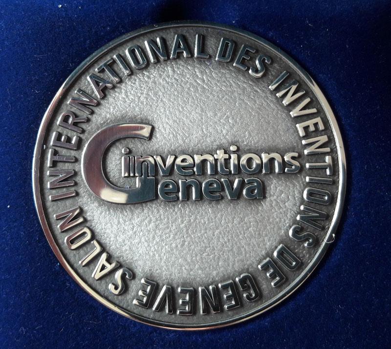 Награда на Международной выставке изобретений, Женева 2018